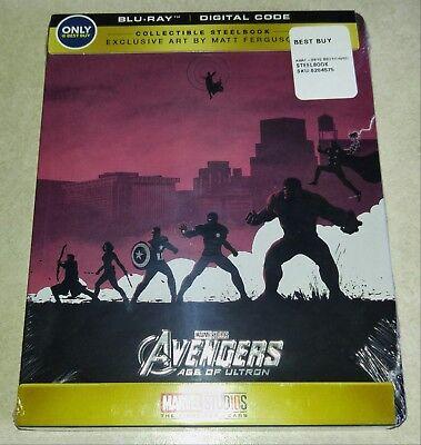 New Avengers Age of Ultron Blu-ray/Digital Copy Steelbook™ Bestbuy