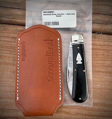 Northwoods Esky Zulu Black Micarta Great Eastern Cutlery Knife GEC