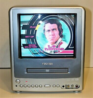 """Toshiba TV DVD Combo 9"""" CRT Portable Gaming MD9DM3 For Car Boat or R/V"""