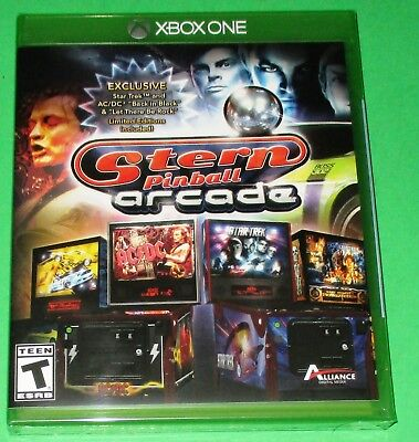 Stern Pinball Arcade Xbox One *New! *Factory Sealed! *Free Shipping!