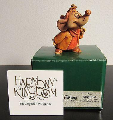 Disney Classics Harmony Kingdom Jaq Figurine Limited Edition 2002 Cinderella