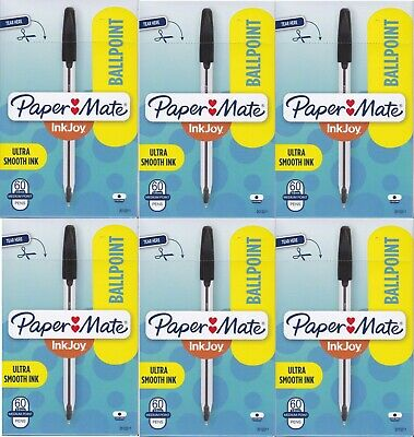 Paper Mate Inkjoy 50st Ballpoint Pens Medium Point 1.0mm Black 360 Count