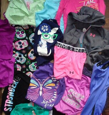 Under Armour Adidas Nike Multi Lot Hollister Hoodie Pants Shorts T Shirt Girls M