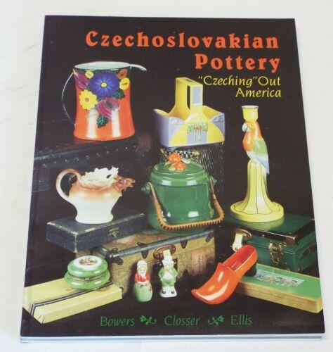 CZECHOSLOVAKIAN POTTERY Identification & Price Guide BOOK Sharon Bowers