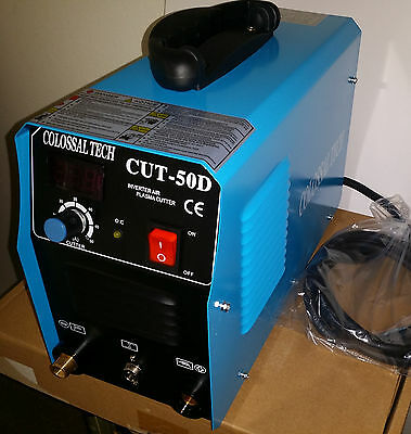 Plasma Cutter 50amp New Cut50d Inverter Dual Voltage 12 Month Warranty 2018 Mode