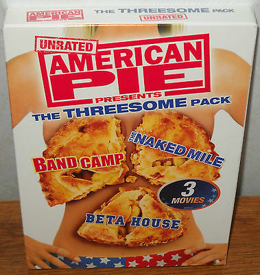 American Pie  The Threesome Pack   Band Camp  The Naked Mile  Beta House New