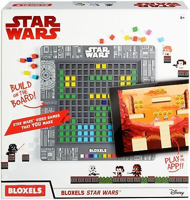 New Disney Star Wars Bloxels Build Your Own Video Game
