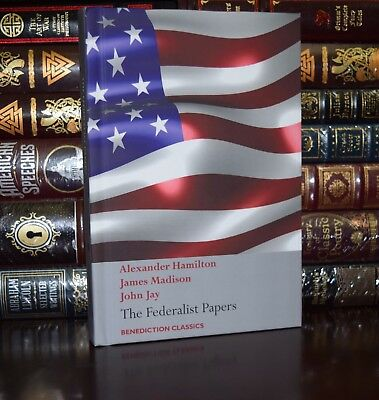 Federalist Papers United States Constitution by Hamilton New Deluxe Hardcover