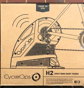 Cycleops H2 smart drive trainer