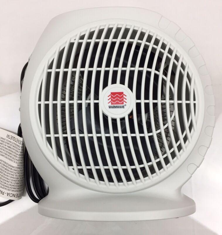Electric Fan Heater w/ T-Stat 1500W Space Heater Home Office Desk Shop