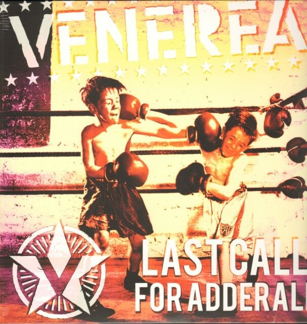 VENEREA - Last Call For Adderall     Clear Red  LP + MP3   !!! NEU !!!