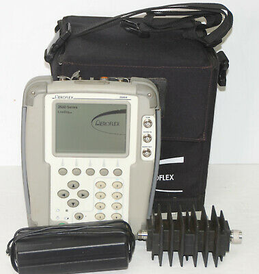 Aeroflex Ifr 3500a Portable Radio Test Set Woptions P25 Trackgen Scope Analyzer