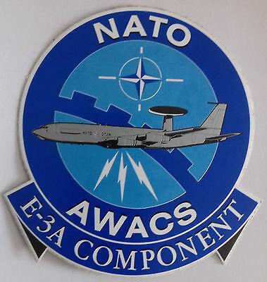 Aufkleber NATO AWACS E-3 A Component Alte Ausführung