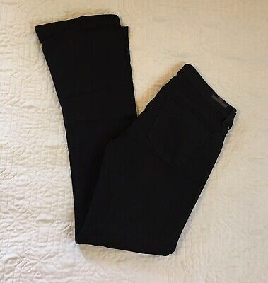Citizens Of Humanity Black Jeans Women Size 29 Boot Cut Low Rise Stretch