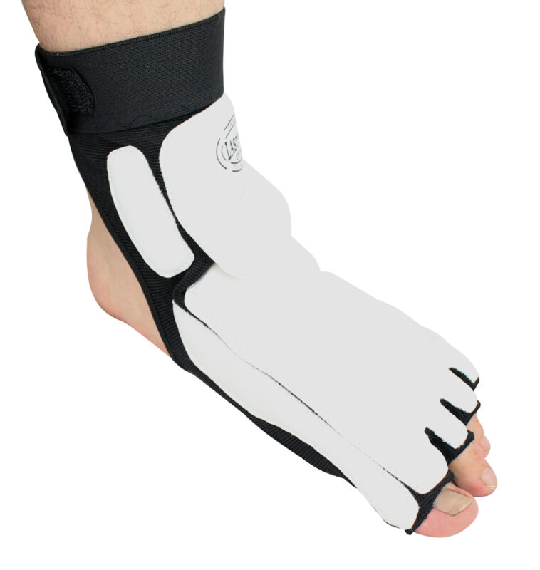 Pair of Last Punch Taekwondo Foot Ankle Support Protector Fighting Foot Guard ki