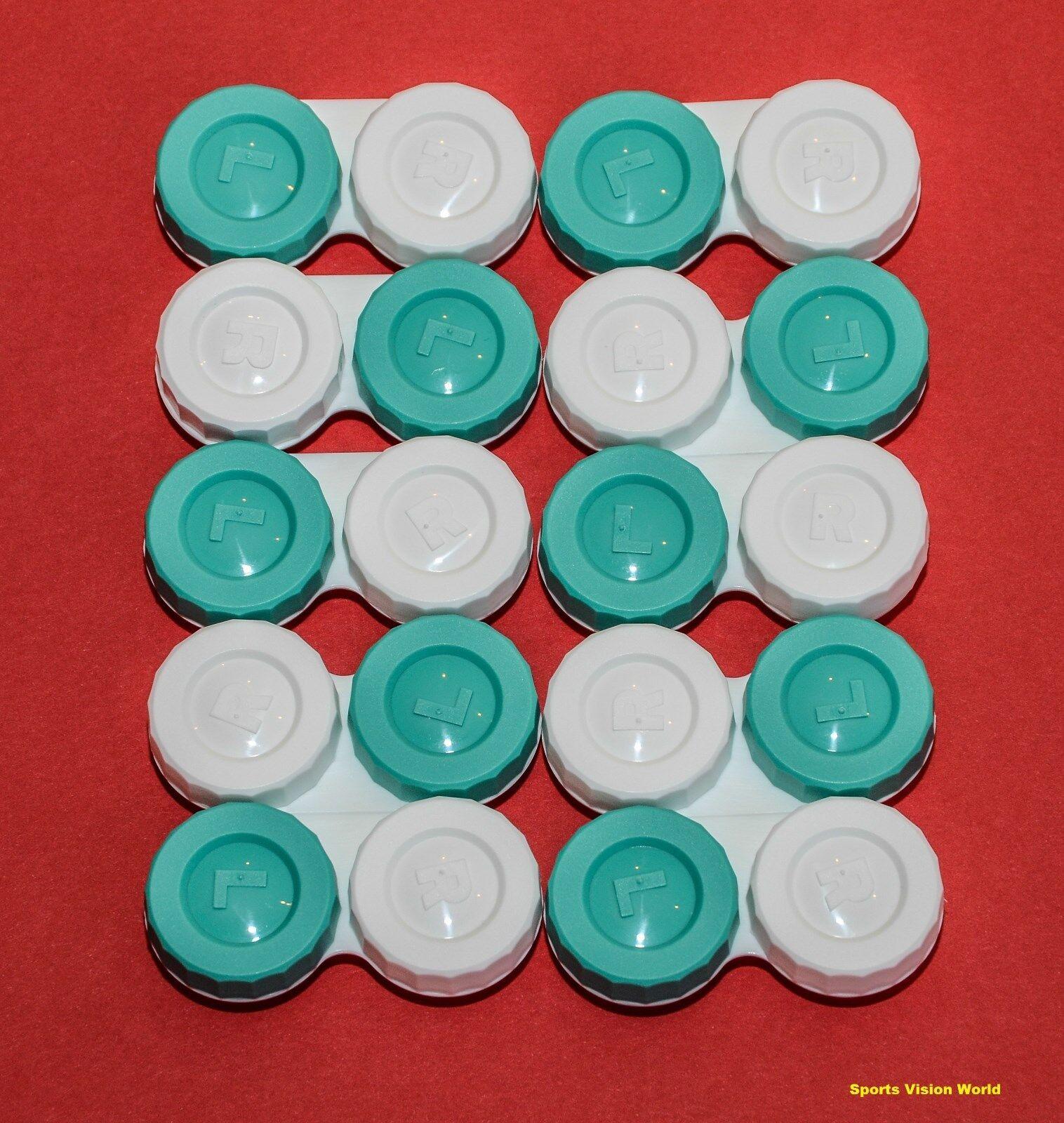 10 x Kontaktlinsenbehälter Gute Qualität CE FDA (FC10)