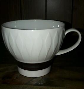 UT Thomas Lanzette weiss Platinrand Kaffeetasse