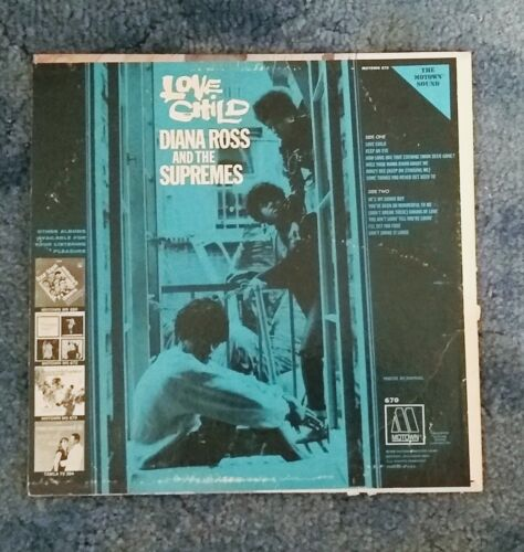1968 Diana Ross And The Supremes – Love Child Vinyl 12 inch record