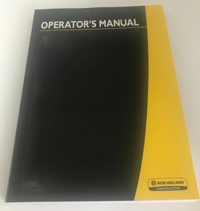 NEW HOLLAND CE E30.2SR/E35.2SR OPERATOR`S MANUAL