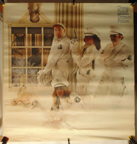 CHEAP TRICK--Dream Police--Large Promo Poster