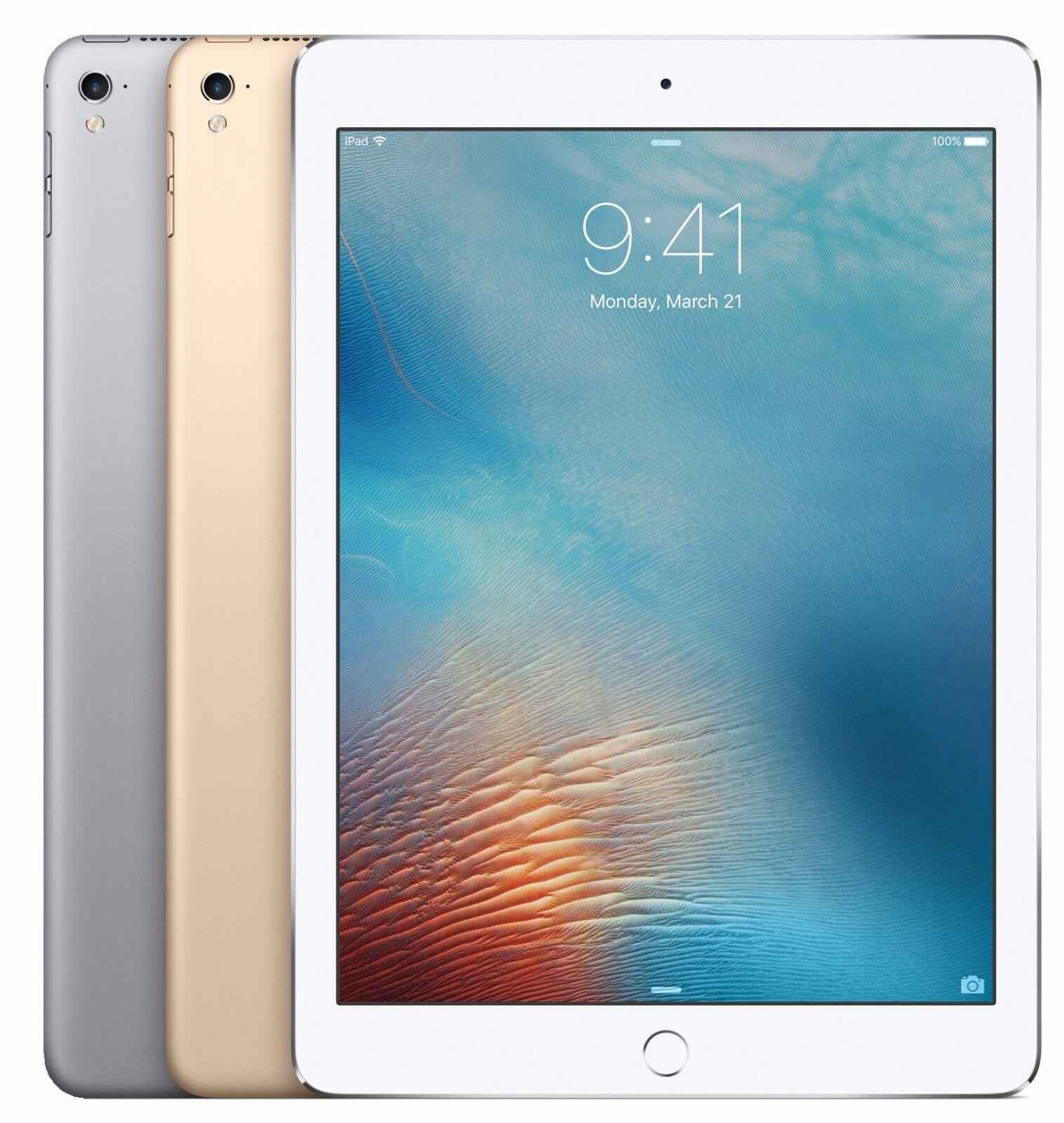 "GRADE A R Apple iPad 6th gen 2018 32GB WiFi 9.7/"" Touch ID GOLD GRAY SILVER"