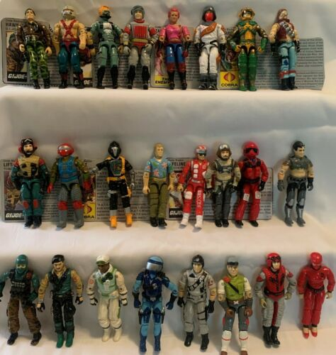 ***YOU PICK*** VINTAGE G.I. JOE/COBRA ORIGINAL ACTION FIGURES 1984-1988