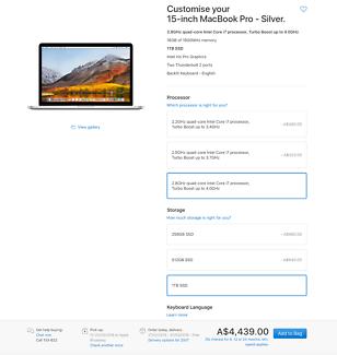 TOP SPECS Macbook pro 15 inch i7 2.8GHz retina DUAL graphics