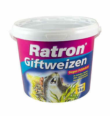 Ratron Giftweizen< 0029% Mäuseköder & Rattenköder 5kg Frunol Weizenköder Ratten
