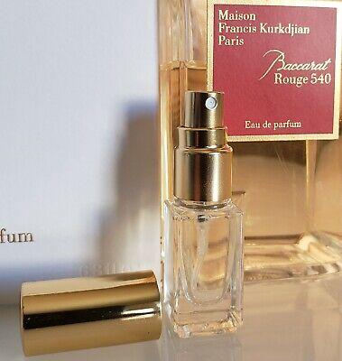 Maison Francis Kurkdjian Baccarat rouge 540 EDP 4ml Mini Sample Spray Atomizer