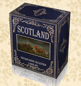 Scottish History Ancestry - 650 Rare Books 3 DVDs - Scotland Family Genealogy E5