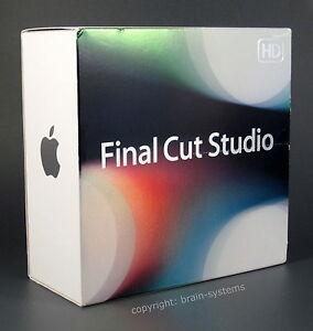 Apple Final Cut Studio 3 HD Deutsche VOLLVERSION mit Final Cut Pro 7, Motion 4,.