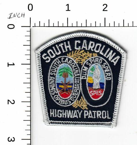 SOUTH CAROLINA HIGHWAY PATROL MINI HAT POLICE PATCH SC
