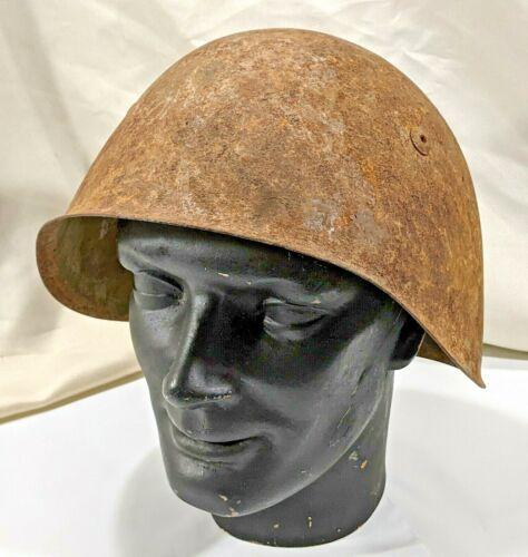 ITALIAN ITALY M33 HELMET AUXILIARY TROOPS WW2 WWII