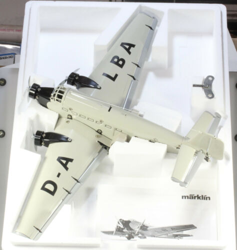 Marklin #1980  JU52 Junkers TriMotor Airplane, New in Box, Made & Sold 1999 only