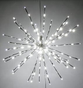 30cm Stern 80 LEDs Weihnachten LED Weihnachtsstern Fensterdekoration  834755