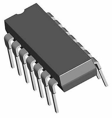 Ti Sn74178n Vintage Shift Register Integrated Ciruit 14-pin Dip New Quantity-1