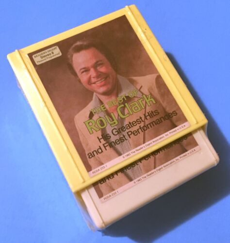 The Best of ROY CLARK - 1983 The Reader's Digest 8-Track Set - 2 Tapes
