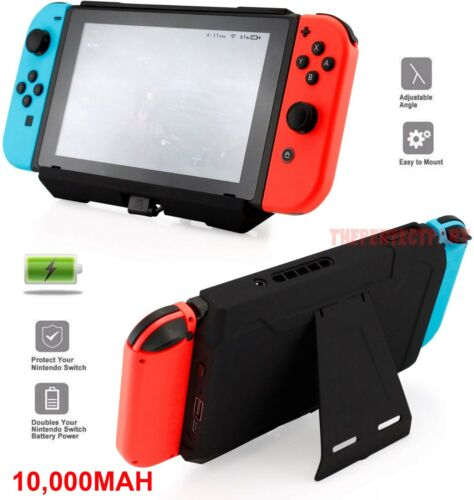 External Portable Extended Battery Charging Case For Nintendo Switch 10000mAh