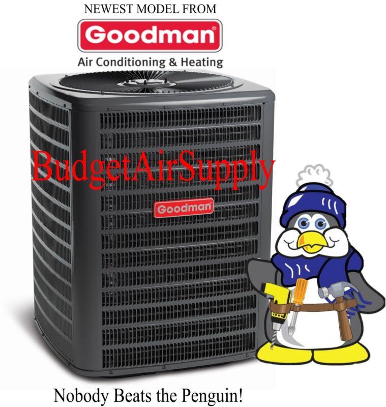 Goodman 2.5 Ton 16 Seer Straight A/c Condenser  Pre Charged 410a Gsx160301