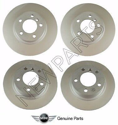 Genuine For Mini Cooper Countryman Paceman S ALL4 Front  Rear Brake Rotors Kit