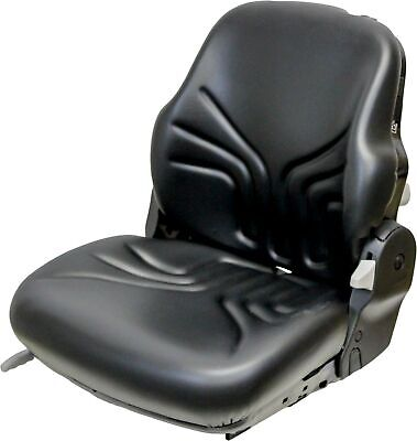 Kubota L3030-l5040-m5-m9960 Series Km 731 Seat Assembly Kit - Black Vinyl