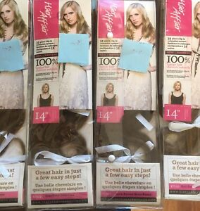 "For sale. Professional 14""clip in hair extensions"