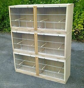 3 X Double Canary Breeding Cage  MULTIBUY OFFER!!