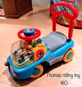 Thomas toddler riding/walk behind toy