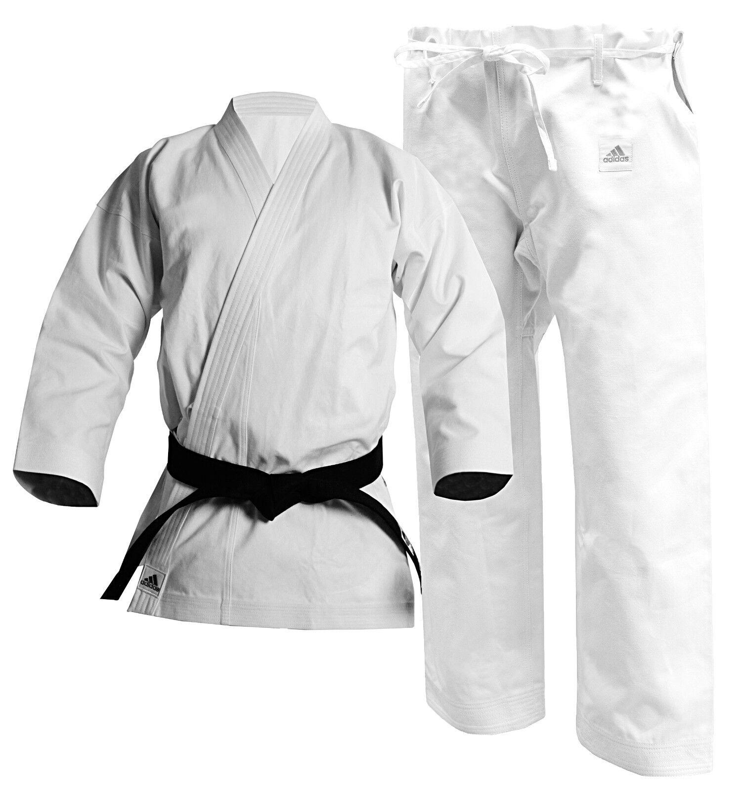 adidas Karate Heavyweight Kata Champion Gi, 14oz Standard Cu