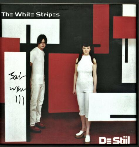 The White Stripes De Stiil Vinyl Record SIGNED Jack White