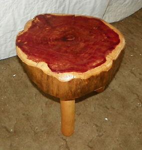 Cedar-Log-3-Legged-Footstool-Stool-ST30