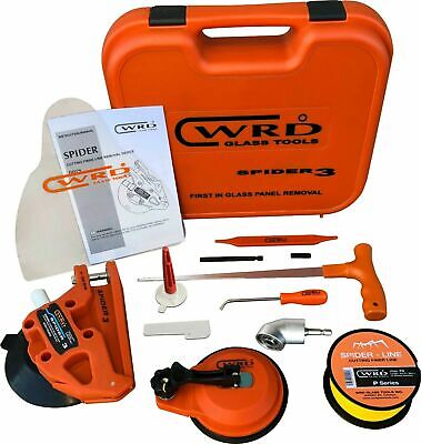 WRD S3 300W WRD Spider 3 – Kit 300 W Auto Glass Windshield Cut Out /Removal Tool