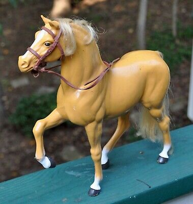 Vintage BARBIE'S HORSE -- The Quiet Blonde One from around 1980 --Good Condition