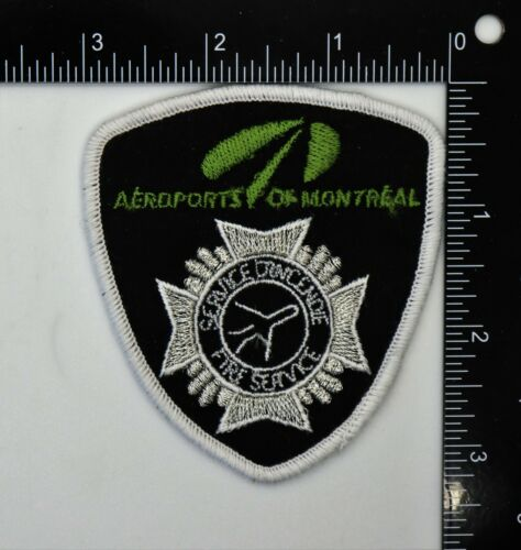 MONTREAL CANADA AIRPORTS FIRE SERVICE PATCH Vintage Original